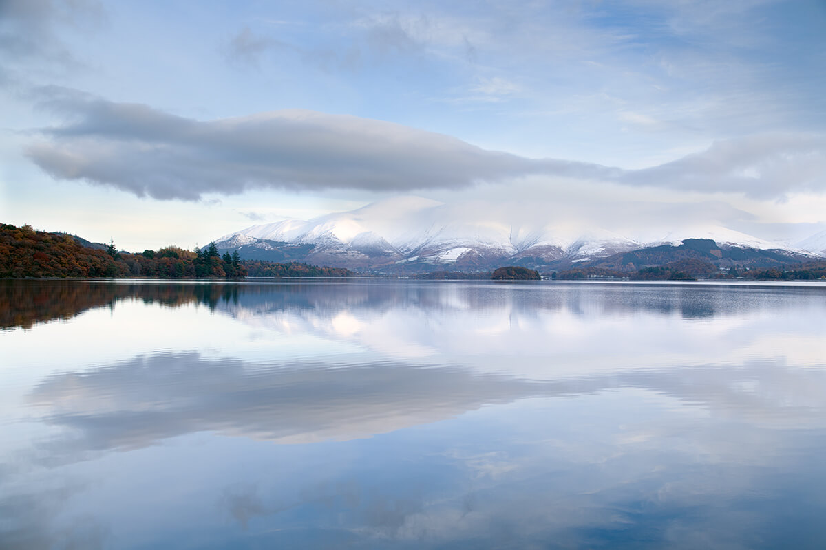 Reflections of Winter - Derwent Water